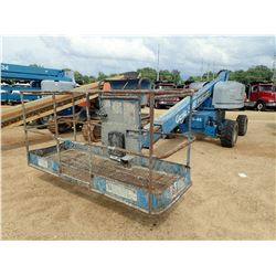 2005 GENIE S40 TELESCOPIC MANLIFT, VIN/SN:S4005-8207 - 4X4, 500LB CAPACITY, 40' REACH, SELF PROPELLE