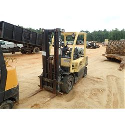 HYSTER 50 FORKLIFT, - LP GAS, 3 STAGE (DOES NOT OPERATE) (D-2)