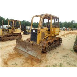 JOHN DEERE 650G CRAWLER TRACTOR, VIN/SN:772353 - 6 WAY BLADE, CANOPY, SWEEPS, SIDE & REAR SCREENS, M