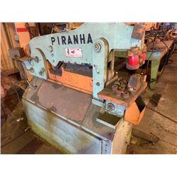 PIRHANA IRONWORKER P3 IRONWORKER MACHINE, - DRIVE MOTOR- 10HP 230/460 VOLT 3 PHASE HYDRAULIC TANK CA