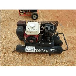 HITACHI PORTABEL AIR COMPRESSOR, GAS ENGINE