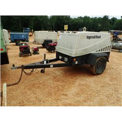 INGERSALL RAND AIR SOURCE PLUS AIR COMPRESSOR, VIN/SN:360024UHPB02 - DIESEL ENGINE, METER READING 68