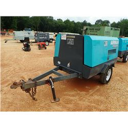 AIRMAN PDS185S AIR COMPRESSOR, - DIESEL ENGINE, METER READING 3,831 HOURS