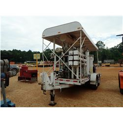 BARON OIL RECLAIMER SYSTEM, VIN/SN:800919 - MTD ON T/A TRAILER W/CANOPY (UTLITY COMPANY OWNED) (B-4)