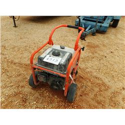 HUSQVARNA PORTABLE STEAM CLEANER, VIN/SN:020490 - BRIIGS & STRAHON GAS ENGINE, 3100PSI (B-4)
