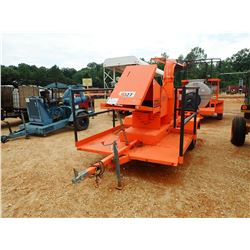 GRUN STRAW & HAY BLOWER, KUBOTA DIESEL ENGINE, METER READING 49 HOURS (B-4)