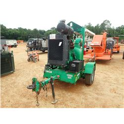 "2014 PIONEER PUMP, VIN/SN:PKG1868 - JOHN DEERE DIESEL, 5"" DIAMETER, PORTABLE, METER READING 773 HOUR"