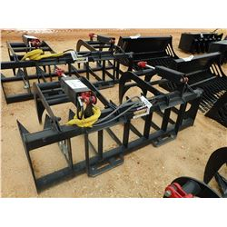 "78"" ROOT GRAPPLE, FITS SKID STEER LOADER (B-5)"