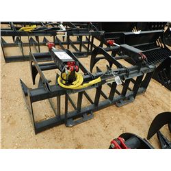 "72"" ROOT GRAPPLE, FITS SKID STEER LOADER (B-5)"