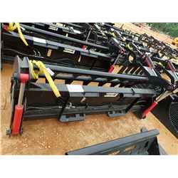 "84"" EXTREME ROOT RAKE GRAPPLE, FITS SKID STEER LOADER (B-5)"