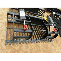 "72"" SKELETON GRAPPLE, FITS SKID STEER LOADER (B-5)"