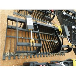 "78"" SKELETON GRAPPLE, FITS SKID STEER LOADER (B-5)"