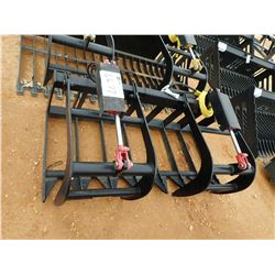 "60"" ROOT GRAPPLE, FITS SKID STEER LOADER (B-5)"