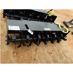 "72"" ROTO TILLER, FITS SKID STEER LOADER (B5)"