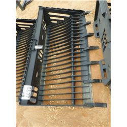 "72"" SKELETON ROCK BUCKET, FITS SKID STEER LOADER (B-5)"