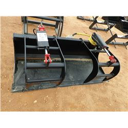 "72"" GRAPPLE BUCKET, FITS SKID STEER LOADER (B5)"