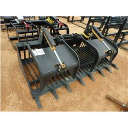 "80"" ROCK GRAPPLE, FITS SKID STEER LOADER (B-5)"