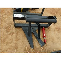 TREE/POLE PULLER, FITS SKID STEER LOADER (B-5)