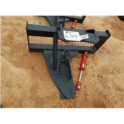 TREE SHEAR, FITS SKID STEER LOADER (B-5)