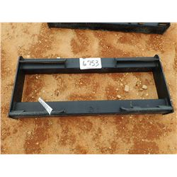 TUBE FRAME QUICK ATTACH PLATE, FITS SKID STEER LOADER (B-5)