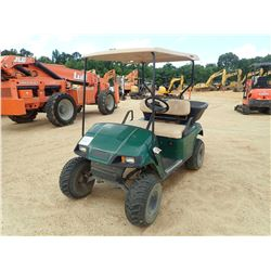 EZ-GO GOLF CART, VIN/SN:1328130 - GAS ENGINE, DUMP BED, LIFT KIT, CANOPY