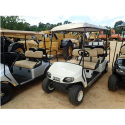 EZ-GO GOLF CART, VIN/SN:2506943 - GAS ENGINE, CANOPY, 6 PASSENGER
