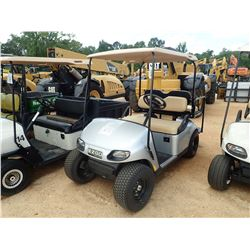 EZ-GO GOLF CART, VIN/SN:1497633 - GAS ENGINE, CANOPY, REAR SEAT
