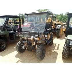 2011 STEALTH APACHE XR UTV, VIN/SN:4S9BB2324AW011041 - 4X4, WINCH, FRONT & SADDLE RACKS, BACKSEAT, W