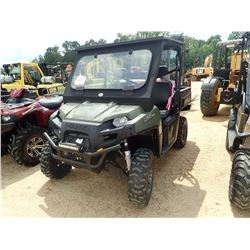 2016 POLARIS RAND 570, VIN/SN:3NSRCA574GG518448 - 4X4, CANOPY, WINDSHIELD, METER READING 349 HOURS