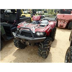 KAWASAKI BRUTE FORCE 750, - 4X4, WINCH, METER READING 232 HOURS