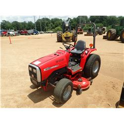 "MASSEY FURGESON 1230 FARM TRACTOR, VIN/SN:G-D4001 - 60"" CUTTER, ROLL BAR, METER READING 1,312 HOURS"