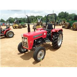MAHINDRA E350-D1 FARM TRACTOR, VIN/SN:MEA-3631 - ROLL BAR, METER READING 277 HOURS