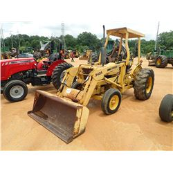 FORD CU414C FARM TRACTOR, VIN/SN:C701061 - 1 REMOTE, CANOPY, FORD 340A FRONT LOADER ATTACHMENT, METE