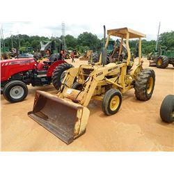 FORD CU414C FARM TRACTOR, VIN/SN:C701061 - 1 REMOTE, CANOPY, FORD 340A FRONT LOADER ATTACHMENT, METE