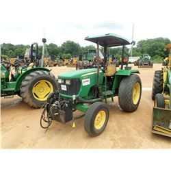 2012 JOHN DEERE 5065E FARM TRACTOR, VIN/SN:008581 - 2 REMOTES, CANOPY, 16.9-28 TIRES, METER READING