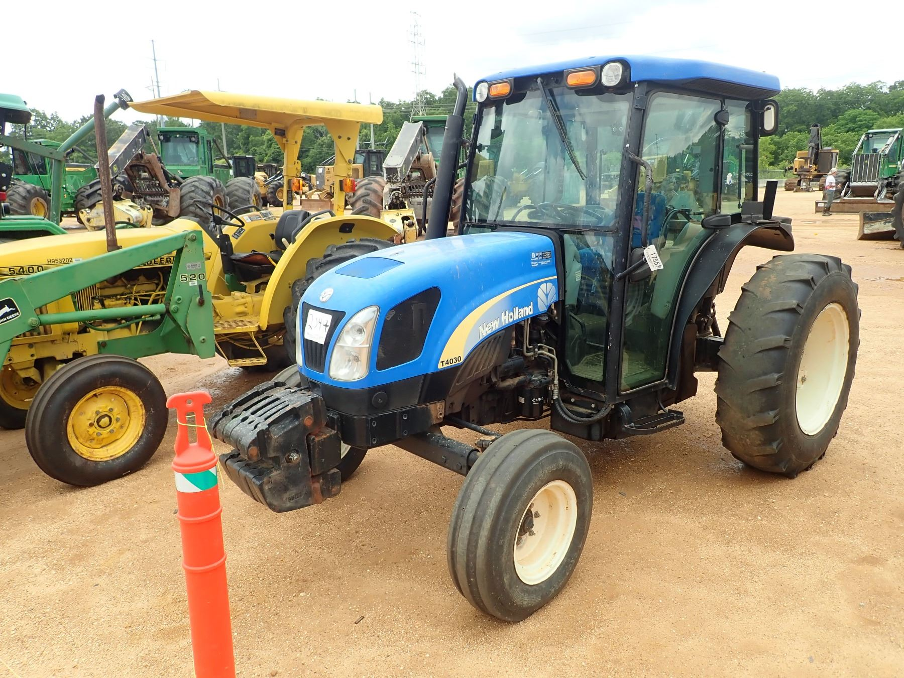 🏆 Serial number location on new holland tractor | New Holland