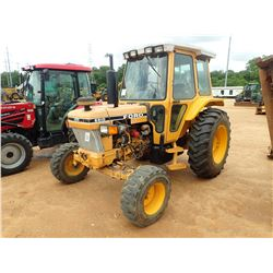 FORD 6610 FARM TRACTOR, VIN/SN:BB32046 - 1 REMOTE, CAB, A/C, METER READING 6,022 HOURS