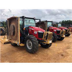 2018 MASSEY FERGUSON 5711 MOWER TRACTOR, VIN/SN:J5178022 - MFWD, (3) REMOTES, DIAMOND MOWERS, 5.5' R