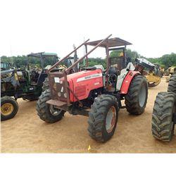MASSEY FERGUSON 5460 FARM TRACTOR, VIN/SN:N195071E - MFWD, 4 REMOTES, CANOPY, 18.4R34 REAR TIRES, 14