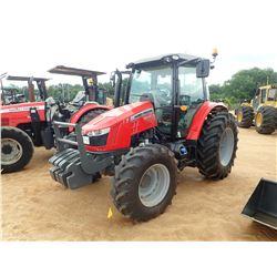 MASSEY FERGUSON 5612 FARM TRACTOR, VIN/SN:E104058 - MFWD, 3 REMOTES, CAB, A/C, 18.4R34 REAR TIRES, 1