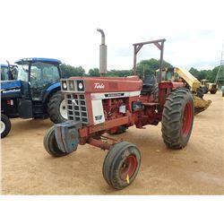 INTERNATIONAL 1066 FARMALL FARM TRACTOR, VIN/SN:9246 - 2 REMOTES, CANOPY, 18.4-38 REAR TIRES
