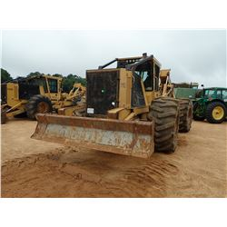 2016 TIGERCAT 620E SKIDDER, VIN/SN:6206764 - GRAPPLE, DUAL ARCH, WINCH, 30.5L-32 TIRES, METER READIN