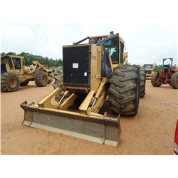 2015 TIGERCAT 620E SKIDDER, VIN/SN:6206685 - GRAPPLE, DUAL ARCH, WINCH, CAB, A/C, 35.5L-32 TIRES, ME