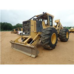 2016 TIGERCAT 610E SKIDDER, VIN/SN:6101141 - GRAPPLE, DUAL ARCH, WINCH, CAB, A/C, 30.5L-32 TIRES, ME