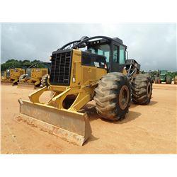2012 CAT 535C SKIDDER, VIN/SN:53500630 - GRAPPLE, DUAL ARCH, WINCH, 30.5L-32 TIRES, METER READING 13