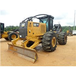 2015 CAT 525D SKIDDER, VIN/SN:GKP00191 - GRAPPLE, DUAL ARCH, WINCH, CAB, A/C, 30.5L-32 TIRES, METER