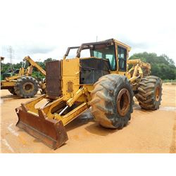 2004 TIGERCAT 620 SKIDDER, VIN/SN:6200368 - GRAPPLE, DUAL ARCH, WINCH, CAB, A/C, 30.5L-32 TIRES