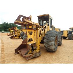 2005 TIGERCAT 724D FELLER BUNCHER, VIN/SN:7240659 - TIGERCAT SAW HEAD, CAB, A/C, 30.5L-32 TIRES
