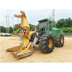 2006 JOHN DEERE 643H FELLER BUNCHER, VIN/SN:882476 - SAW HEAD, CAB, A/C, 28L-26 TIRES, METER READING
