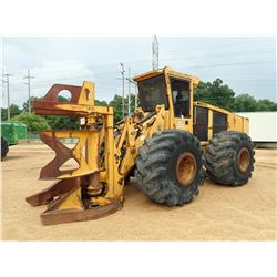 TIGERCAT 720B FELLER BUNCHER, VIN/SN:7202171 - TIGERCAT DW5602 SAW HEAD, CAB, A/C, 67X34.00-25 TIRES